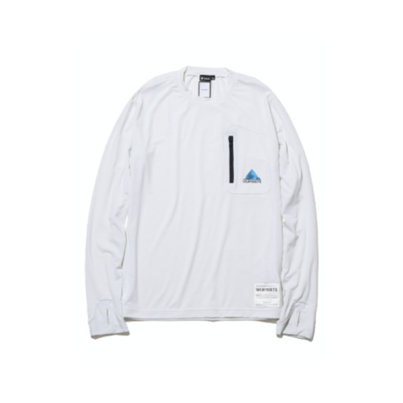 Long Sleeves T-shirt (Wool混Jersey)